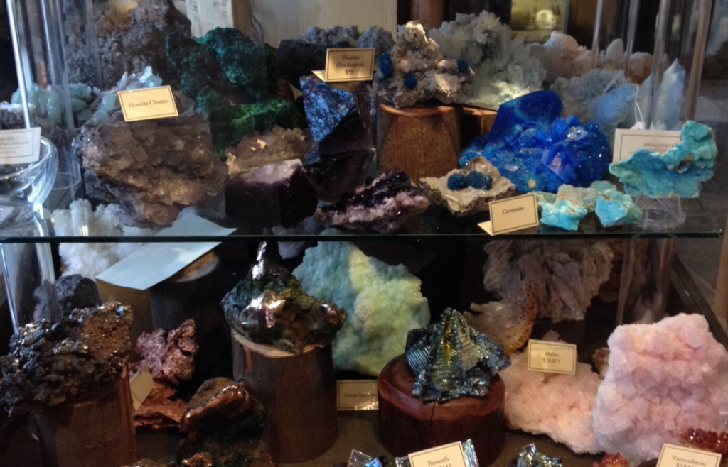 San Francisco Paxton Gate crystals and geodes