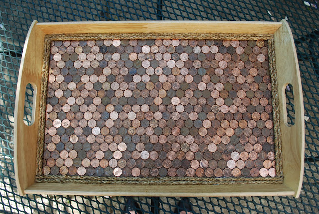 Ikea Hacks Copper Penny Serving Tray